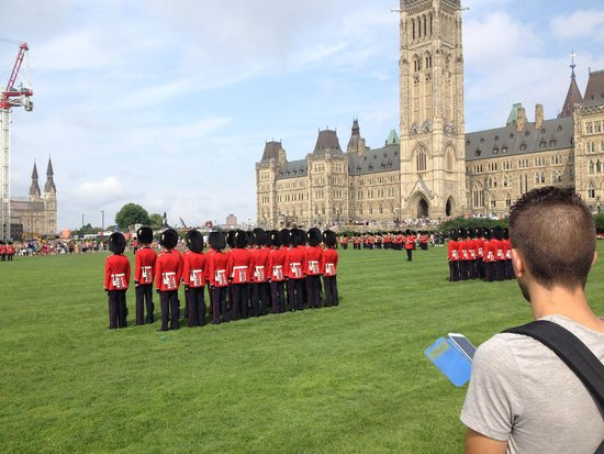Changing of the Guard at the Parliament