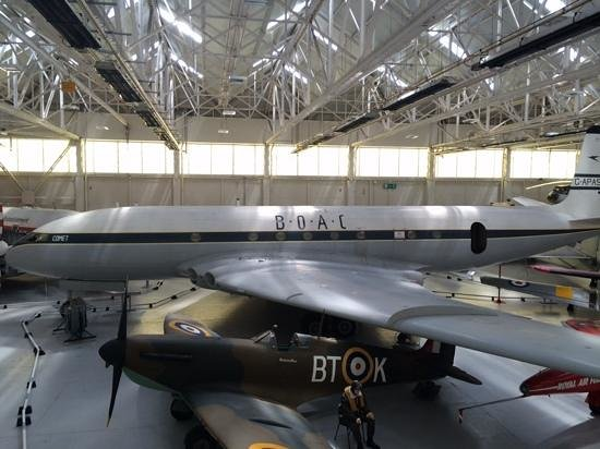 Royal Air Force Museum, Cosford: The Star (or comet) of the show