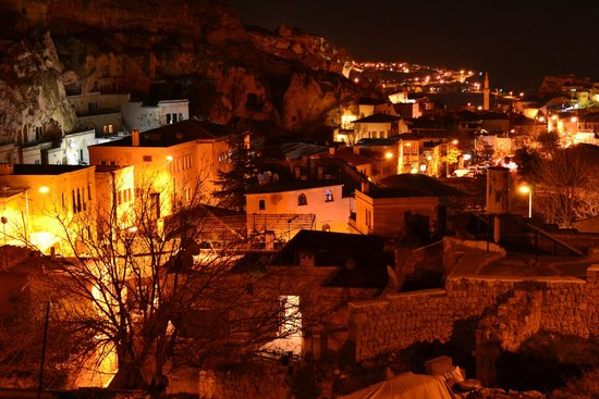 Turban Hotel Urgup: Ночная панорама