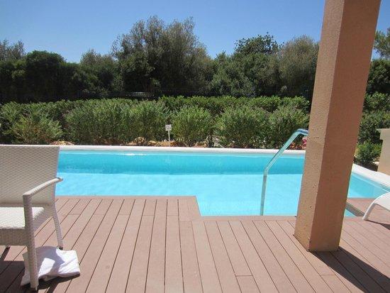 Holiday Village Majorca - Protur Monte Safari: swim up room from 3103 sides patio