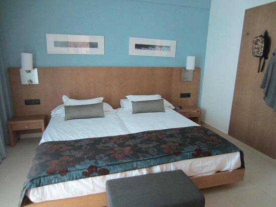 Holiday Village Majorca - Protur Monte Safari: main bedroom ( 2 huge single beds pushed together!)