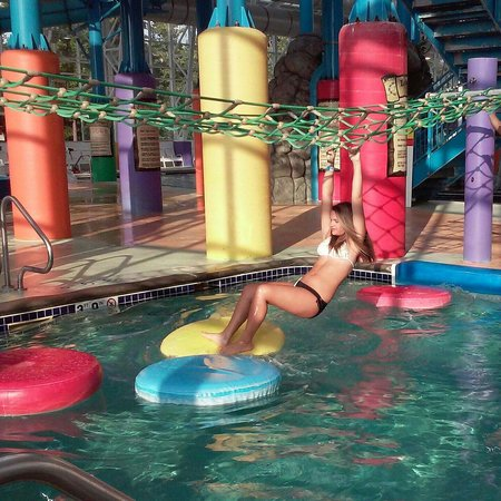 Big Splash Adventure Indoor Waterpark & Resort: One of the cool activities in the water park. My 14 yr old even loved it.