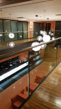 Safir Hotel Casino: Reception dall alto