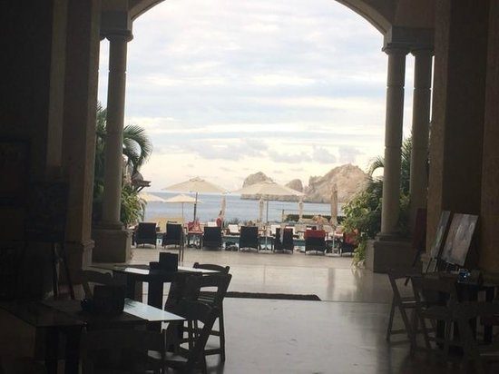 Casa Dorada Los Cabos: View from lower lobby