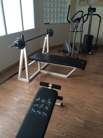 Servigroup Castilla : Hotel gym