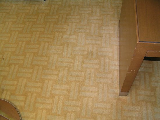 Hyatt Regency Kinabalu: Carpets could do with a steam clean.