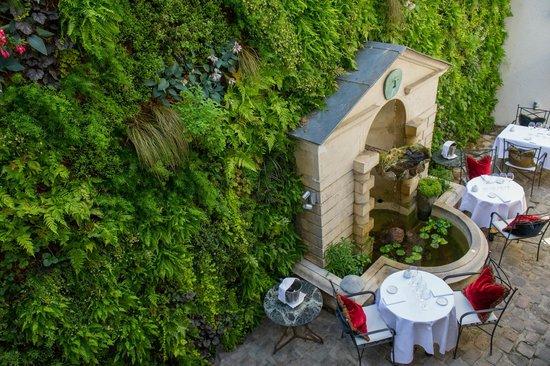 Le Restaurant : La terrasse