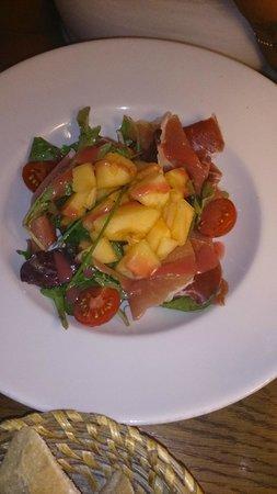Fou de Fafa: salade melon jambon