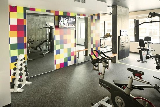 Hotel Foyer Montreal : Fitness center picture of alt hotel montreal griffintown