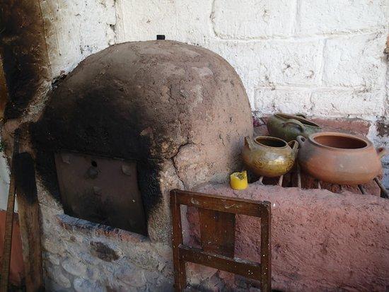 Los Perales Ecolodge: le four à pain pour le pain maison
