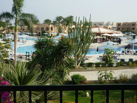 Ali Baba Palace : the view from the room