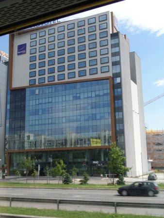 Novotel Sofia : Εξωτερική όψη