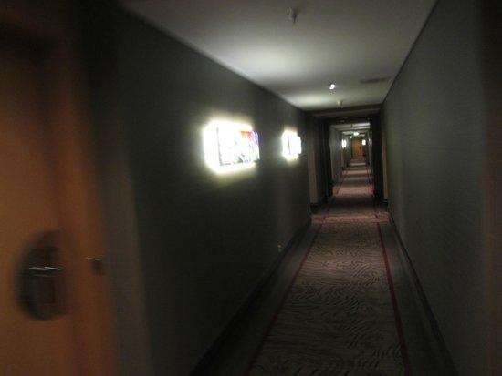 Le Meridien München: im 4. Stock (SPG-Bereich)