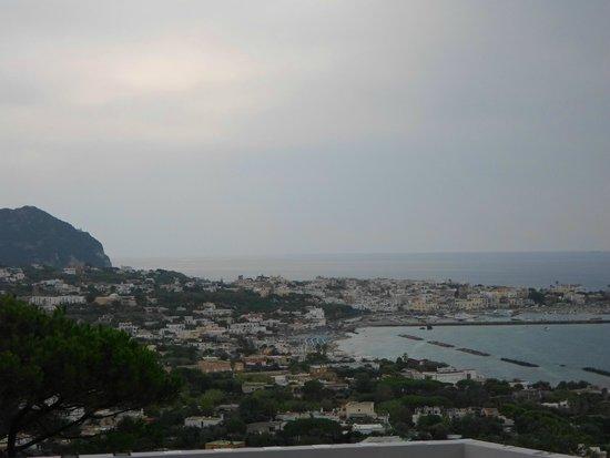 Giardini La Mortella: panorama di Ischia visto dall'altro del giardino