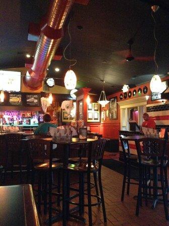 Danny Boy's Italian Eatery: Inside the bar area . . .
