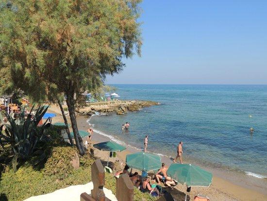Aegean Creta Star : vue d'une partie de la plage