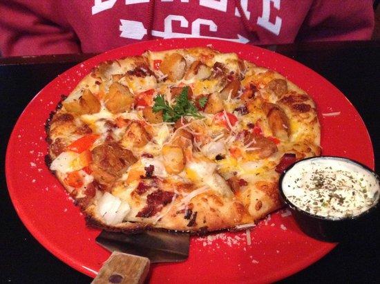 Danny Boy's Italian Eatery: Potato Pizza (small)