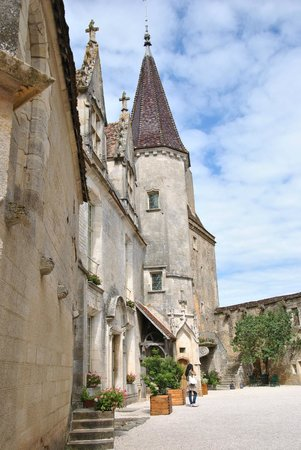 Bourgogne-Franche-Comté, ฝรั่งเศส: Scorcio del castello