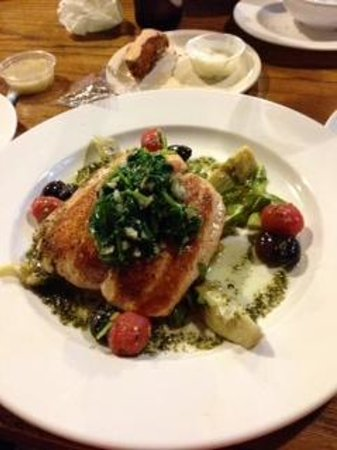 Cafe Portofino: my salmon