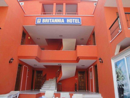 Britannia Hotel : Один из корпусов отеля