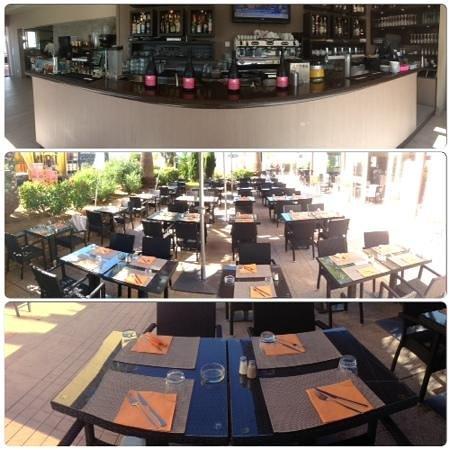Casa Luna : apercu bar et terrasse