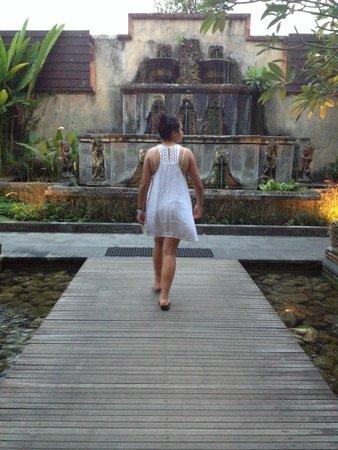 Rama Candidasa Resort & Spa: Beautiful Gardens