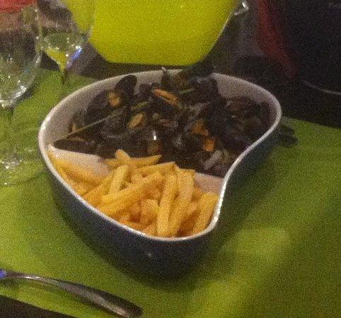 Le Restaurant Du Port : moule marinière