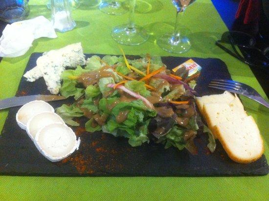 Le Restaurant Du Port : assiette de formage