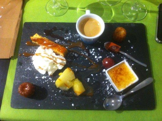 Le Restaurant Du Port : café gourmand