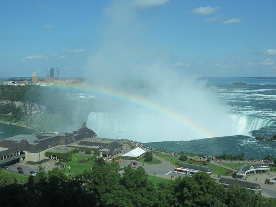 Niagara Falls Marriott Fallsview Hotel & Spa: Horseshoe Falls