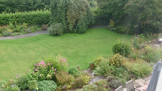 Edgcott House: Garden from room
