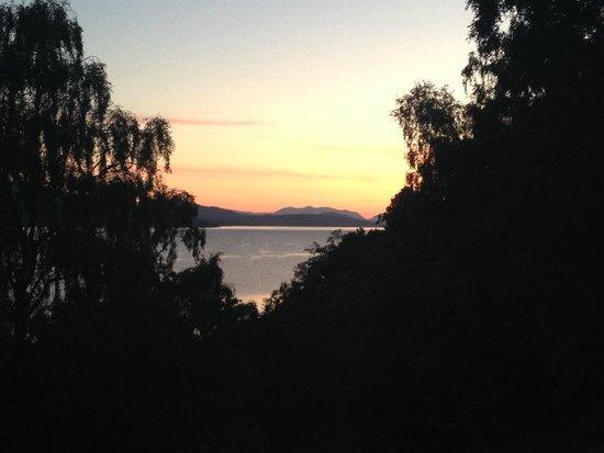Macdonald Loch Rannoch Hotel: Sunset in August