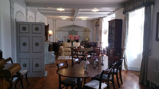 Edgcott House : Lounge area