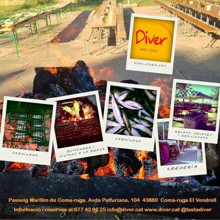 Diver Parc Ludic : Cenas (verano)