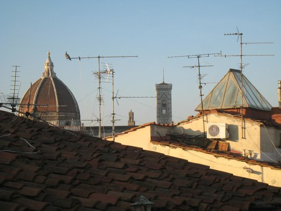 Room Mate Luca : roof top of Duomo Dome and Bell Tower