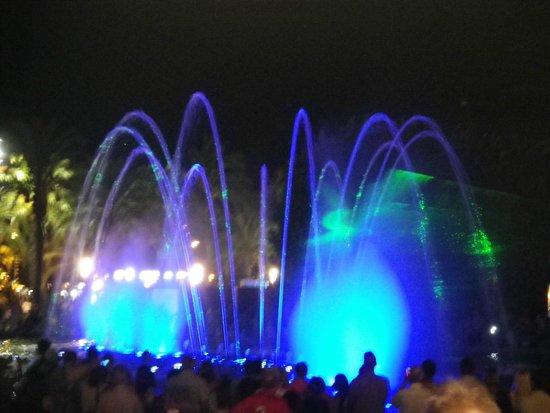 Illuminated Fountain: Salou Fountain of Entertainment