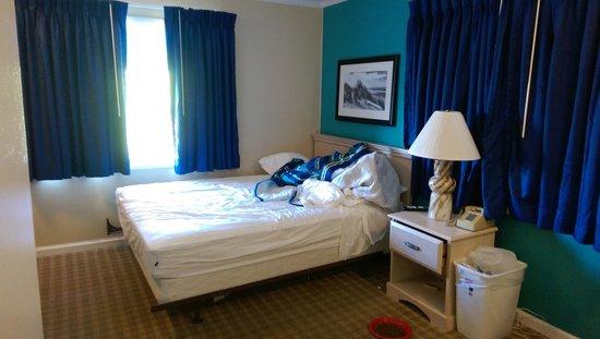 Colonial Inn: Queen bed