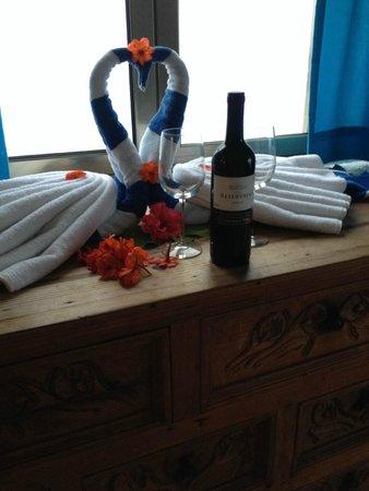 Ventanas al Mar: Special welcome in room