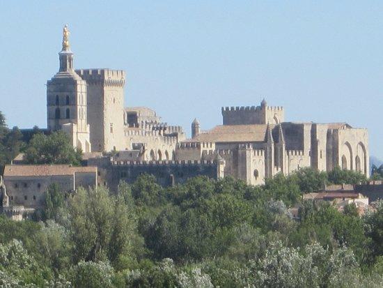 Palais des Papes : het mooie paleis