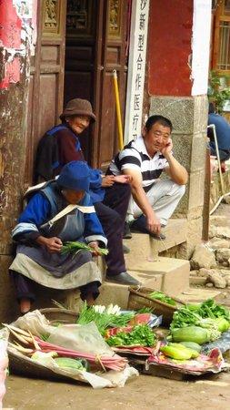Baisha Ancient Town : ambulanti