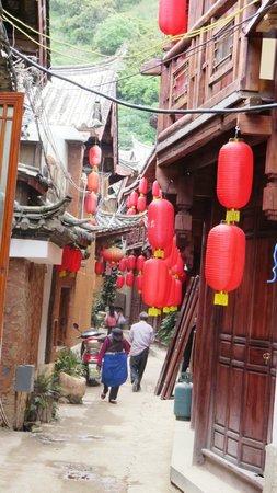 Baisha Ancient Town : stradina