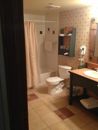 Tour des Voyageurs : Large bathroom