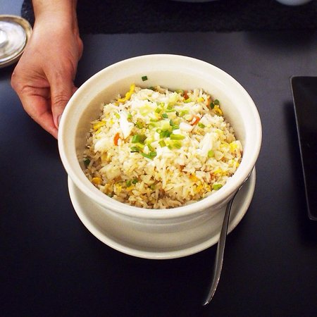Cher Resort: Stired rice with crab meat from set menu 1250++
