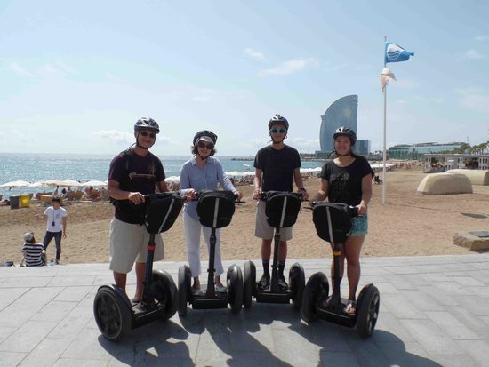 Barcelona Segway Glides : Barcelona August 2014
