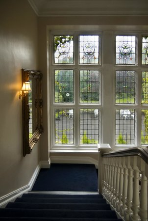 Dalmeny Park Country House Hotel: From the stairs to the gardens