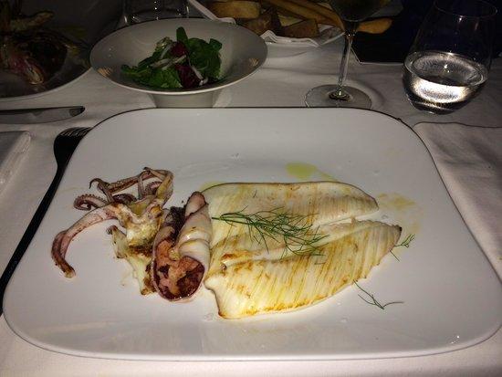 Calamaro alla plancia - Picture of Terrazza Bartolini, Milano ...