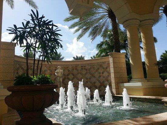 Acqualina Resort & Spa on the Beach: fuente entrada