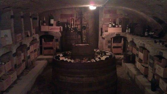 Le Chateau de Cocove : Wine Cellar