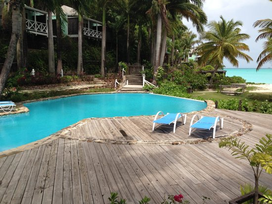 COCOS Hotel Antigua : The quiet pool