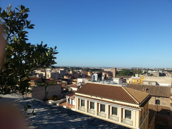 Mecenate Palace: view from Rooftop